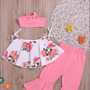 3-Piece Baby Girl outfit
